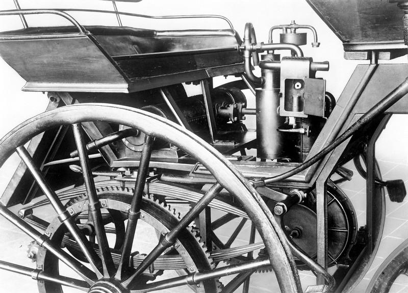 Mercedes-Benz Gasoline Engine History