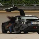 mercedesgullwingdoors spy shots rear 125x125 Mercedes Gullwing SLC Spy Shots and Car Detail Revealed