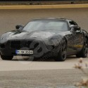 mercedesgullwingdoors spy shots side2 125x125 Mercedes Gullwing SLC Spy Shots and Car Detail Revealed