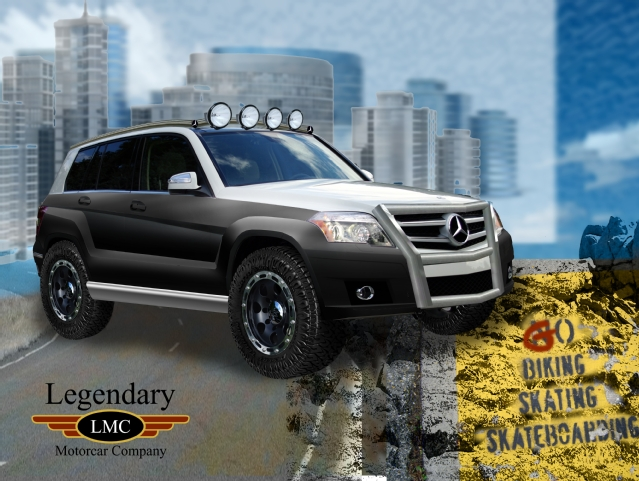 Mercedes benz is poised to impress at sema with tuned for Mercedes benz accessories glk350