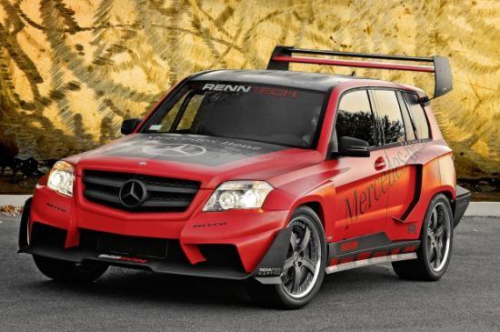 Mercedes Benz Glk Tuner Challenge At Sema 2008