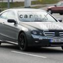 mercedes benz clk spyshot e class coupe3 125x125 Mercedes Benz E Class Coupe (aka CLK) Spy shots