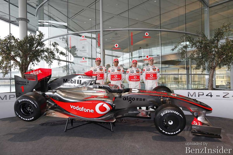 The New Vodafone Mclaren Mercedes Mp4 24 Benzinsider Com