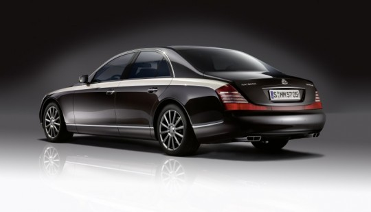 maybach zeppelin mercedes 540x309 Maybach Sale Not True, Says Daimler