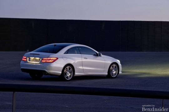 the new mercedes benz e class coupe09 540x359 And the Winner is... KBBs 2010 Brand Image Awards Announced