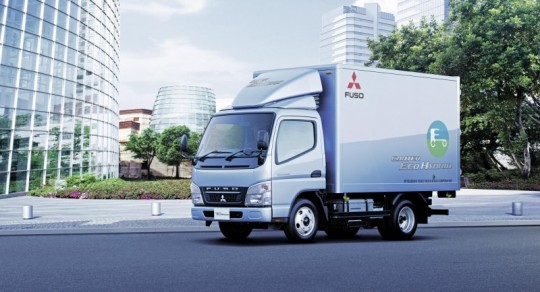 daimler trucks sells 500th hybrid truck from mitsubishi fuso in japan 540x292 Daimler Trucks Sells 500th Fuso Hybrid Truck in Japan