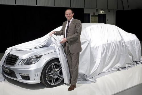 mercedes benz e class e63 amg Mercedes Benz releases preview of 2010