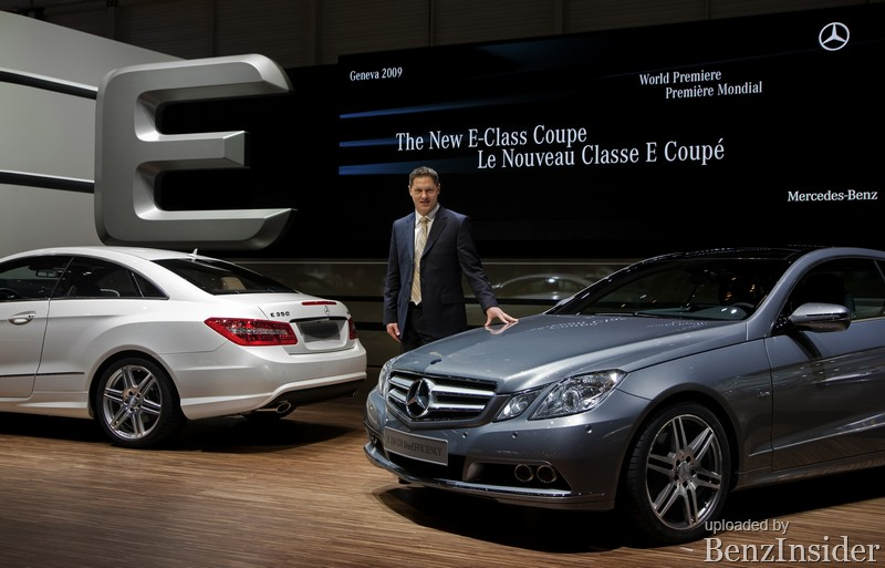 mercedes benz presents new e class sedan and coupe in geneva041 Geneva 2009: Mercedes Benz presents new E Class sedan and coupé