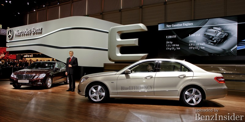 mercedes benz presents new e class sedan and coupe in geneva08 Geneva 2009: Mercedes Benz presents new E Class sedan and coupé