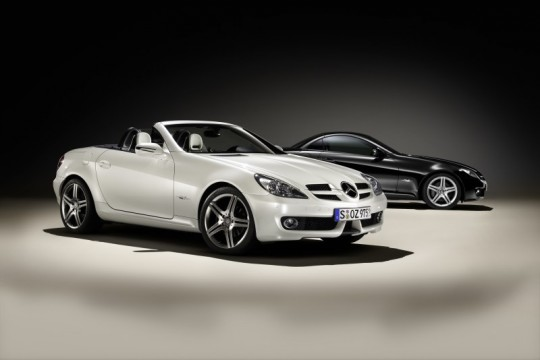 mercedes benz slk 2look edition 540x360 Geneva 2009: Mercedes Benz SLK 2LOOK Edition