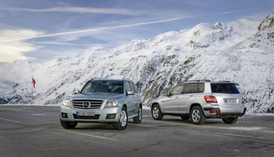 mercedes benz glk winter driving fun12 540x311 Mercedes Benz Cars reports 20.6% decline in February sales