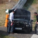 2011 mercedes benz slk spy shots 125x125 Next gen Mercedes Benz SLK has mechanical problems at Nürburgring