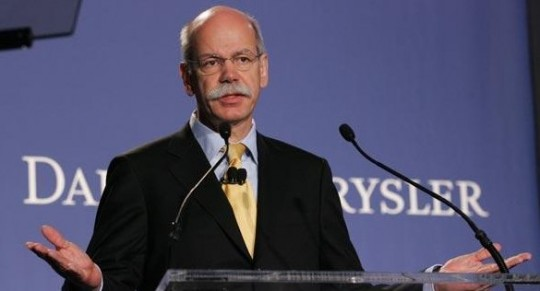 dieter zetsche dr z 540x291 Reducing work hours and pay to safeguard employment at Daimler AG