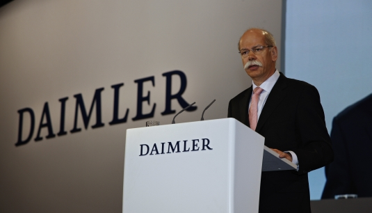 dr dieter zetsche chairman of the board of management of daimler Daimler AG earnings fall   Implementing new cost cutting initiatives