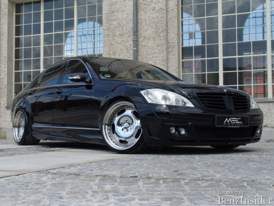 mercedes benz s class bodykit 02 540x405 Mercedes Benz S Class Bodykit from MEC Design