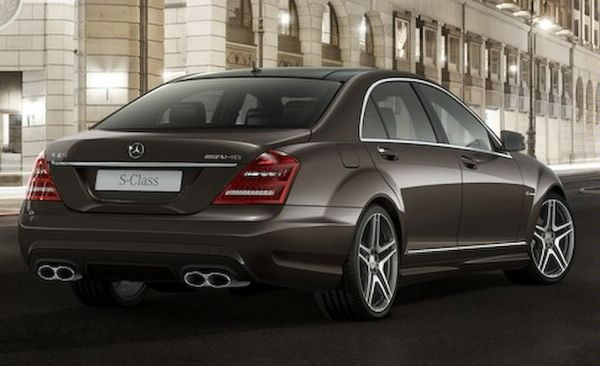 Mercedes Benz S Amg. 2010 Mercedes-Benz S63 and S65