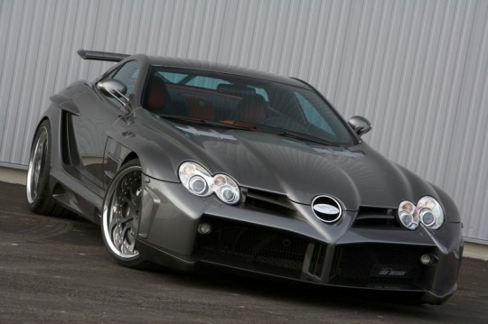 mercedes benz slr fab design 540x359 FAB Design tunes the Mercedes Benz SLR
