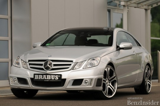 brabus tunes the 2010 mercedes benz e class coupe 11 540x358 Brabus tunes the 2010 Mercedes Benz E Class Coupe