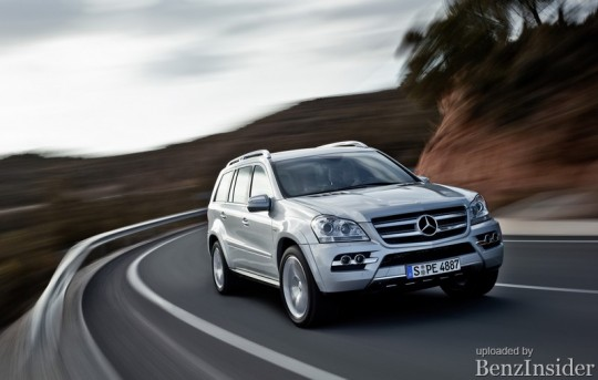 mercedes benz bluetec models and new gl class pave the way for a successful future 08 540x343 Standard Enhancemets for Aussie GL Class