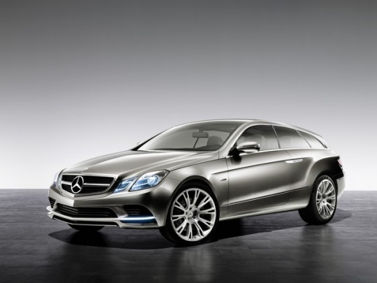 e class shooting brake 1 540x405 Mercedes Benz to produce Concept Fascination vehicle