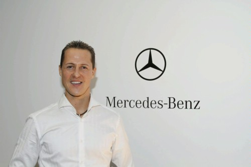 mercedes benz michael schumacher formula 1 Michael Schumacher Still Not Responding to Stimuli