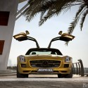mercedes benz sls amg in a striking gold paint finish at the dubai motor show03 125x125 Mercedes Benz SLS AMG in a striking gold paint finish at the Dubai Motor Show