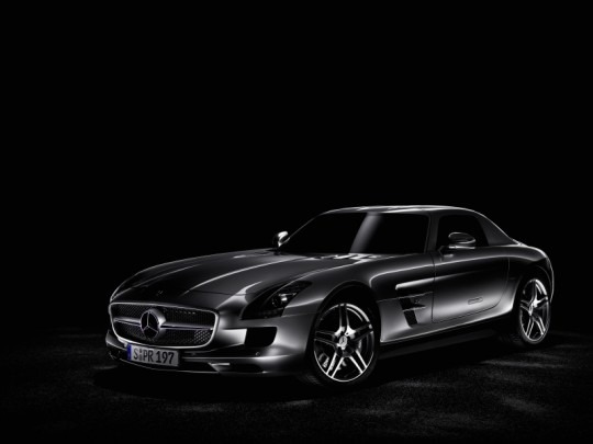 mercedes benz sls amg wins the if product design award 20101 540x405 March 27th 2010: Market launch of SLS AMG and E Class Cabriolet in Europe