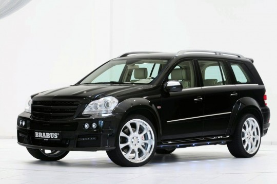 01 brabus gl 540x358 Brabus tunes the Mercedes Benz GL to supercar status