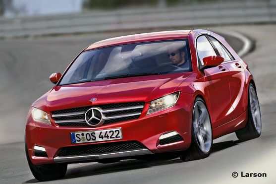 It's being preped for an October 2012 launch. mercedes benz a class