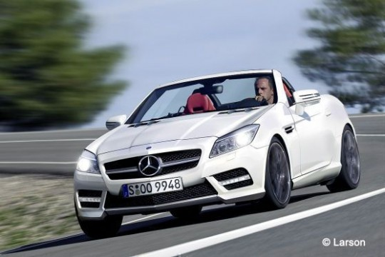 mercedes benz new slk 540x360 New Mercedes Benz SLK roadster coming in December of 2010