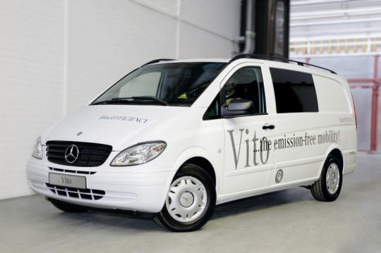 battery powered mercedes benz vito for zero emissions 2 540x359 Mercedes Benz introduces the battery powered Vito