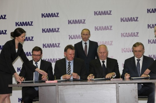 kamaz 540x359 Daimler Trucks to increase stake in Russian truck manufacturer KAMAZ