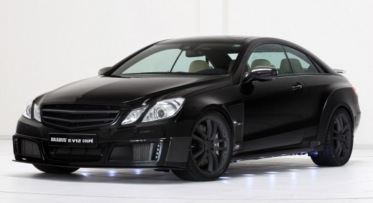 2010 brabus e v12 coupe 3 540x295 Brabus creates an 800 hp monster from the E Class Coupe