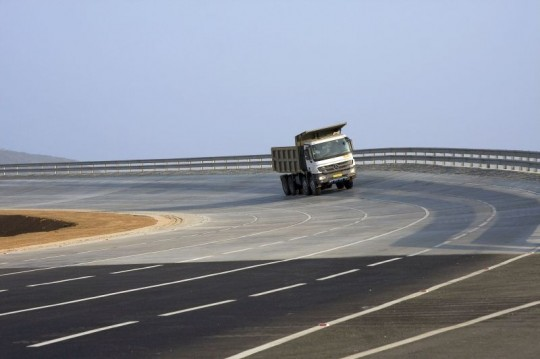 Daimler Trucks Unveils Truck Test Track in Oragadam near Chennai India 540x359 Daimler Trucks Unveils Truck Test Track in India