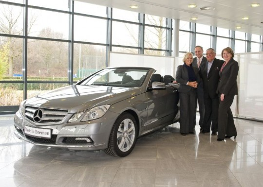 First customer handover of the new Mercedes Benz E Class Cabriolet 540x385 First customer handover of the new Mercedes Benz E Class Cabriolet
