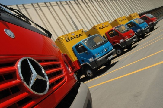 Mercedes Benz do Brasil Sells 550 Trucks to the Brazilian Retail Company Casas Bahia 540x359 Mercedes Benz do Brasil Sells 550 Trucks to the Brazilian Retail Company