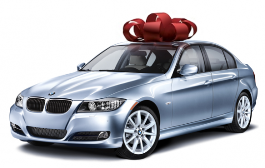 bmw giveaway 540x342 April Fools Joke: WIN a brand new BMW 328i from BenzInsider and BMW of America