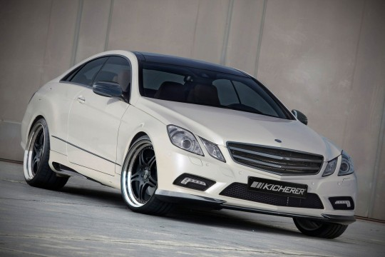 kicherer e 50 coupe 3 540x360 Kicherer tunes the Mercedes Benz E Class Coupe