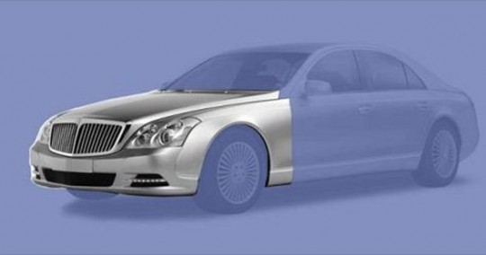 maybach facelift 540x284 Maybach to get a facelift before it retires?!?