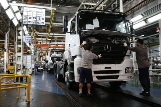 mercedes benz plant in brazil 540x359 Mercedes Benz do Brasil expands production capacity to 75,000 units per year