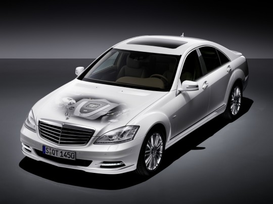 mercedes benz s400 hybrid 540x405 Mercedes to roll out all hybrid S Class line in America in 2012