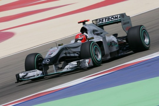 mercedes gp bahrain 540x359 2010 Bahrain Grand Prix: A decent finish for Mercedes GP