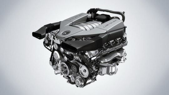 v8 63 amg engine 540x303 Mercedes Benz new AMG engine combines power with fuel efficiency