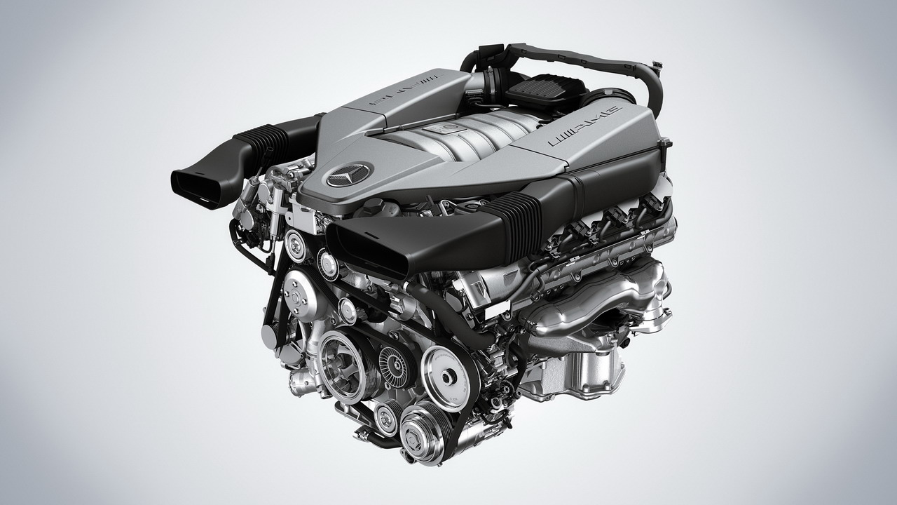 Mercedes 6.3 AMG Engine