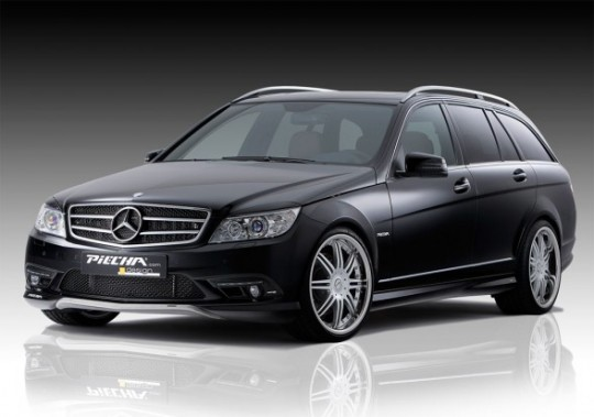 2010 PIECHA Mercedes Benz C Class Estate Front Side View 588x413 540x379 Mercedes Benz C Class Estate dominates in Autocar mags SUV challenge