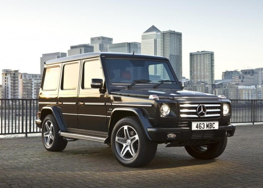 Untitled 2 540x387 Mercedes Benz G Class Set to Storm UK Once Again