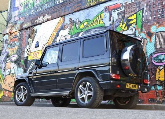 Untitled 540x389 Mercedes Benz G Class Set to Storm UK Once Again