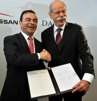 daimler renault nissan The Daimler and Renault Nissan partnership