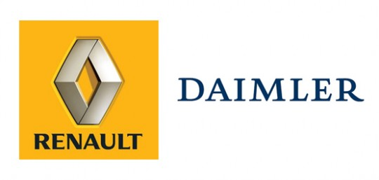 renault daimler 540x257 Daimler Renault partnership enters lithium ion feud