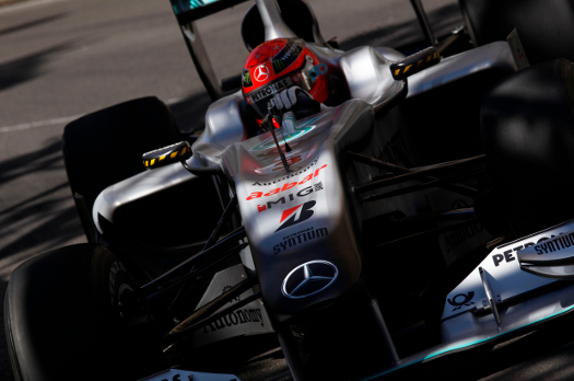 123 big Monaco GP: Disappointing finish for Mercedes GP